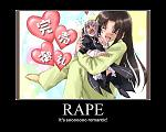 Rape. Romance has never been so wrong ^^