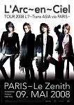 Laruku's French promotional concert poster ^^