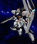 Nu Gundam,thanks to Mikoo.