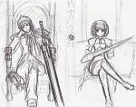 An FFXIII Haruhi Seitenkan cross which I never finished.