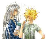 Sephiroth and cloud has just wake up
