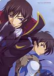 Sunrise's dynamic duo, Setsuna & Lelouch.